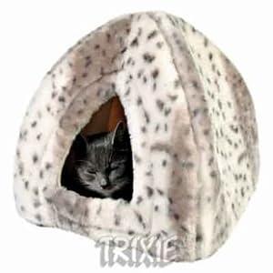 Trixie Cushy Cat Bed Cave Leila