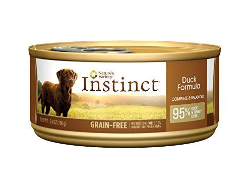 Nature's Variety Instinct Grain-Free Duck Formula Canned Dog
