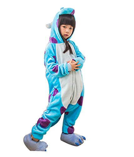 Pajamas,Kiddom Kids Cartoon Sleepwear Unisex Costume Animal Cosplay Onesie Sleepsuit