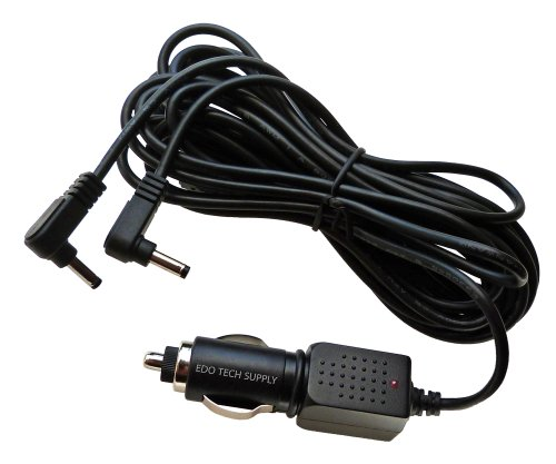 Car Charger Adapter for Philips Dual Screen Portable DVD Player LY-02 LY02 AY4128 AY4197