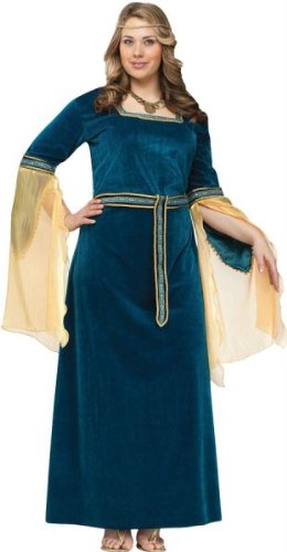 Costumes for all Occasions FW122775 Renaissance Princess Ad Plsz