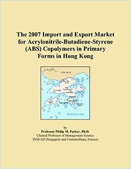 Acrylonitrile butadiene styrene copolymers industry 2013