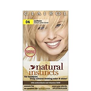 Natural Instincts Sunflower Hair Color