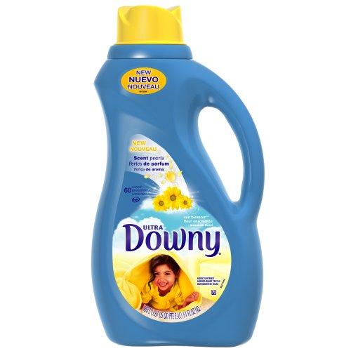Downy Ultra Sun Blossom Liquid Fabric Softener 60 Loads, 51-Ounce (Pack of 2)