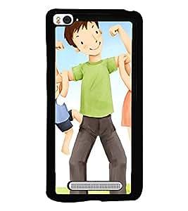 Printvisa Father Lifting The Kids Back Case Cover for Xiaomi Redmi Mi4i::Xiaomi Mi 4i