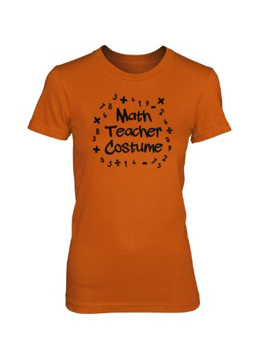 Women's Math Teacher Halloween Costume T Shirt Funny Halloween Tee
