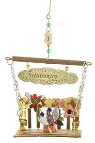 Pilgrim Imports Porch Swing Metal Fair Trade Ornament