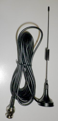 Sale!! MINI MAGNET MOBILE SCANNER or TWO WAY BNC ANTENNA - 700 to 1300 MHz - ANALOG or DIGITAL