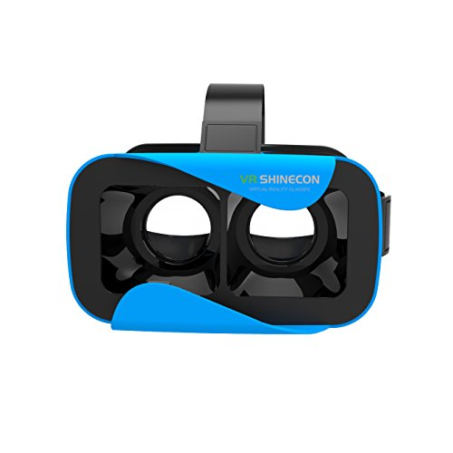 """VR SHENICON 3D Virtual Reality Headset Mobile Phone Movies 4.7""""-6.0"""" (Blue)"""