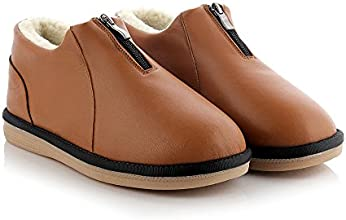 Oyangs Leather Wool Sheepskin Women39s Cozy Slippers S71