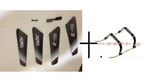 Replacement Spare Parts for V789 NEXUS BLADES SET and Landing skid
