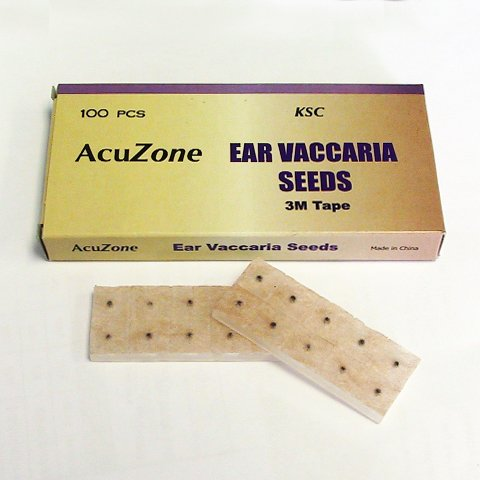 Acuzone Ear Vaccaria Seed (100pcs per box) (Auricular Chart compare prices)