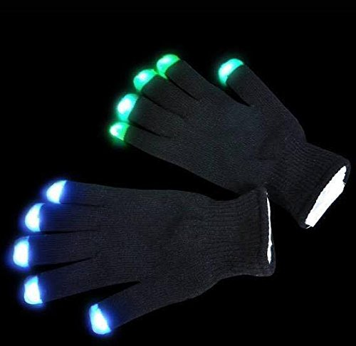 Rave 6-Modes Flashing Gloves (TZ Boss). For Rave, Club Events, Party, Dubstep Party and etc. Best Quality, long lasting times and changeable batteries.