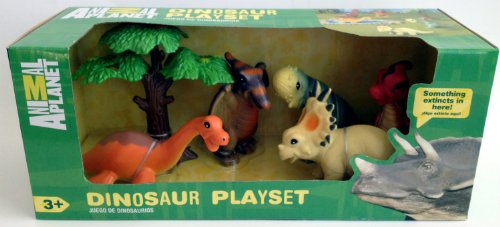 Animal Planet Baby Dinosaur Playset Set of 5 Soft Figures