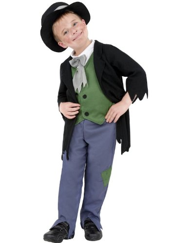 Child Dodgy Victorian Boy Fancy Dress Costume