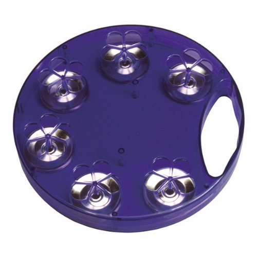 Woodstock Percussion Blue Jambourine