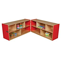 Wood Designs 24H in. Folding Storage