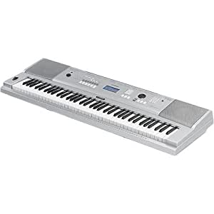 yamaha dgx220 76 key full size piano keyboard refurbished musical instruments. Black Bedroom Furniture Sets. Home Design Ideas