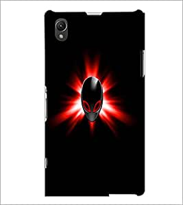 PrintDhaba Mask D-1994 Back Case Cover for SONY XPERIA Z1 (Multi-Coloured)
