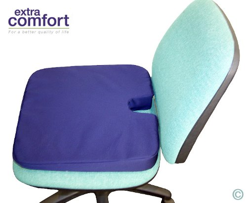 ExtraSupport Compact Orthopaedic Coccyx Chair Seat Cushion Wedge From ExtraComfort