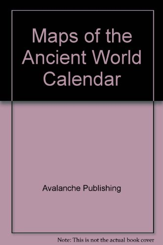 Maps of the Ancient World Calendar