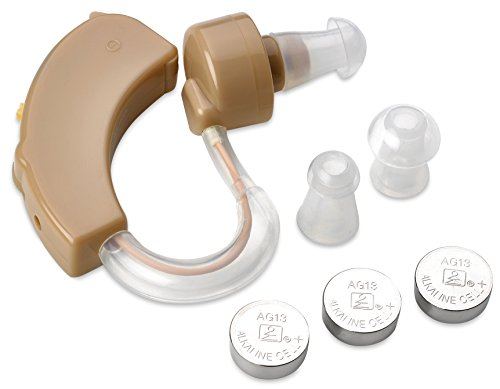 MEDca Hearing Amplifier, Personal Sound, Digital Feedback Cancellation and Noise Reduction, (style...