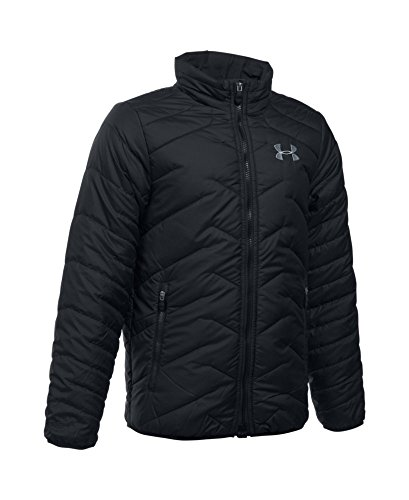Under Armour Boys' ColdGear Reactor Jacket, Black (001), Youth Small