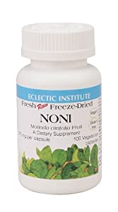 Eclectic Institute - Noni Freeze-Dried, 375 mg, 100 capsules