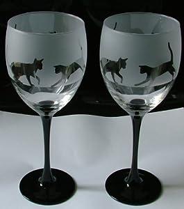 Cat Stem Wine Glass Uk