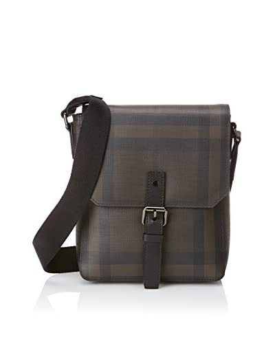 Burberry Men's Messenger Bag, Chocolate