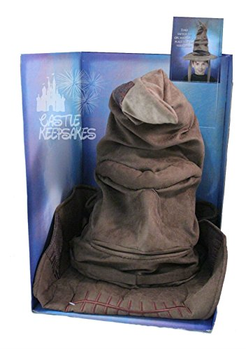 [Brand New ! Talking Animated Sorting Hat Prop Replica Toy] (Sorting Hat From Harry Potter)