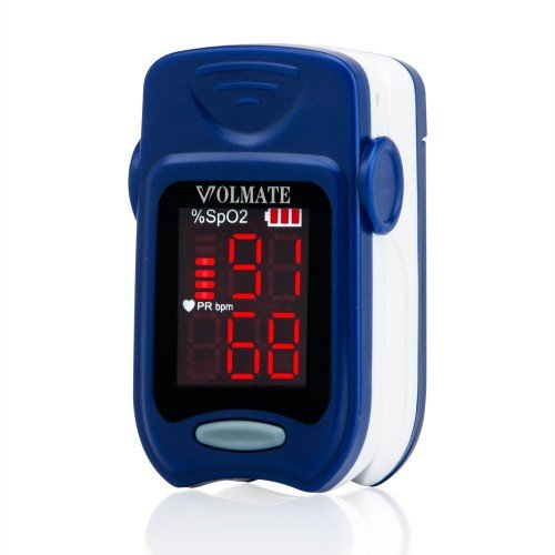 Home Care Wholesale® Finger-Pulsoximeter - FDA und CE Genehmigt Tragbar SpO2 und Monitor Pulsmesser (Accurate Medical Modell FS10A)