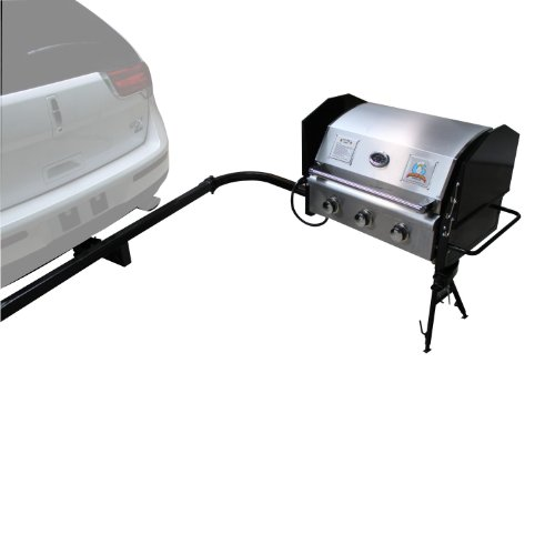 Party King MVP-9212 Swing'N Smoke Grill Package (Tailgate Grill Hitch compare prices)