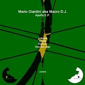 Mario Giardini Aka Macro DJ Macro D.J. Motion Sequence E.P.