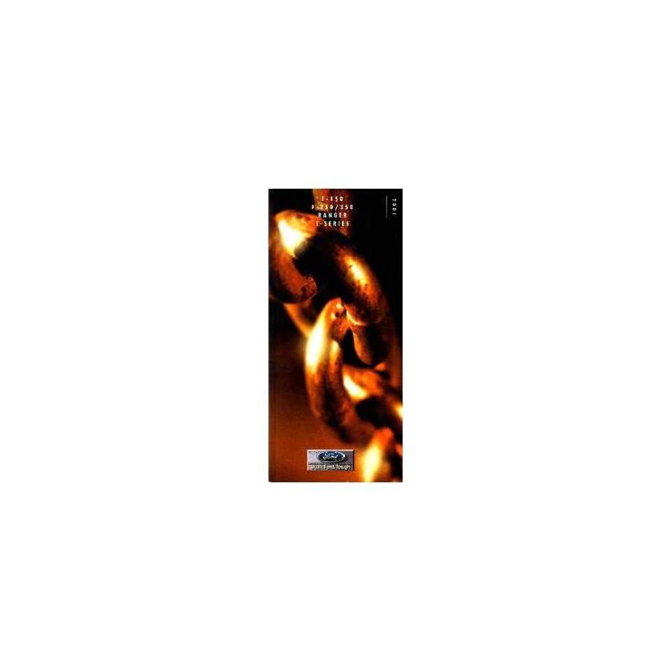 2001 Ford F E Series Ranger Sales Brochure Literature Dealer Advertisement Automotive