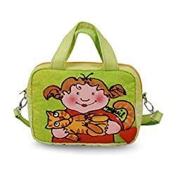 BrightWorld Cuddle Cat Small Stylish/Colorful Shoulder Tote Bag