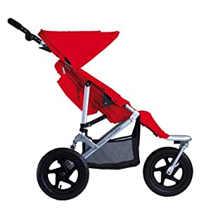 EasyWalker Single SKY BASE Stroller, Red
