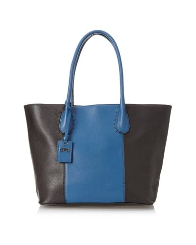 RoviMoss Women's Rovi Medium Tote, Blue/Black