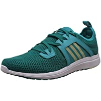 adidas Women's Durama W Green and Blue Mesh Running Shoes - 8 UK