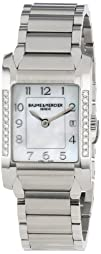 Baume   Mercier Womens MOA10051 Quartz Stainless Steel Mother-of-Pearl