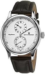 Revue Thommen Men's 16065.253199999999 Regulator Analog Display Swiss Automatic Brown Watch