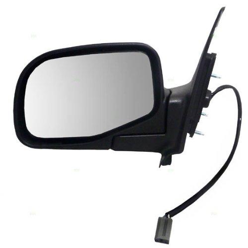 New Passengers Power Side Mirror Glass Housing Heated for 08-12 Honda Accord