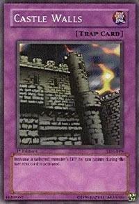Yu-Gi-Oh! - Castle Walls (SDJ-045) - Starter Deck Joey - Unlimited Edition - Common