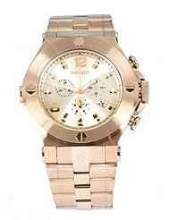 Renato Wilde Beast Classic Swiss Made Quartz Diver Goldtone 30 ATM Watch