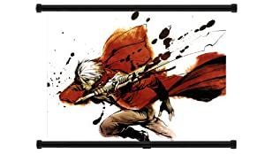 """Devil May Cry Anime Game Fabric Wall Scroll Poster (32"""" x 24"""") Inches"""