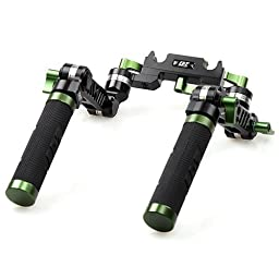 RioRand®Side Grip 2 Universal for All 15mm Dslr Camera Rig