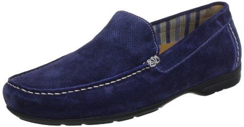 Sioux GIANNI-FS Moccasins Men blue Blau (indaco) Size: 43