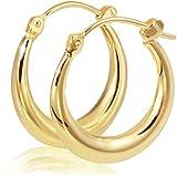 Goldmaid-Creolen 333 Gelbgold Pr O3007GG