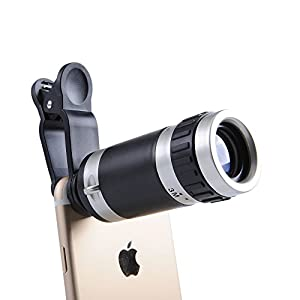 ANTSIR マホカメラレンズ 小型 携帯カメラレンズ スマートフォン用望遠鏡