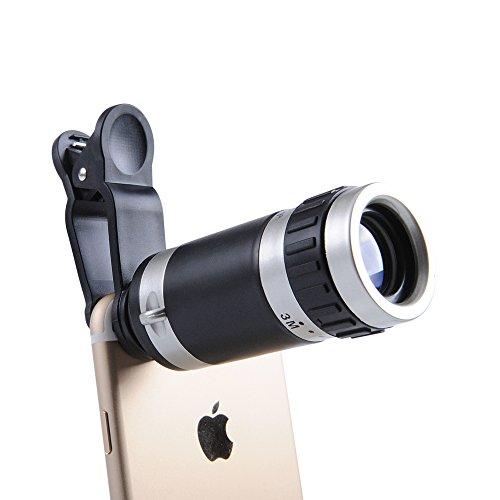 ANTSIR マホカメラレンズ 小型 携帯カメラレンズ スマートフォン用望遠...